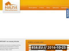 Miniaturka domeny www.hause.pl