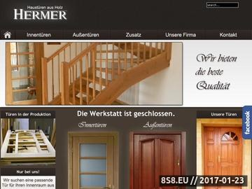 Zrzut strony Haustüren holz