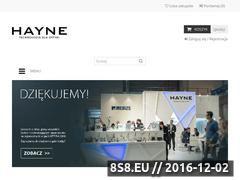 Miniaturka domeny hayne.pl
