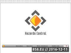 Miniaturka domeny www.hazardscontrol.pl