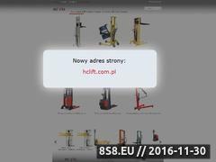 Miniaturka domeny www.hclift.pl