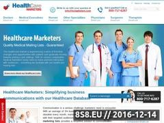 Thumbnail of Healthcare Marketers offers Ophthalmologists Email Website