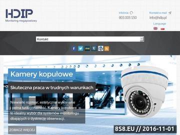 Zrzut strony Rejestratory sieciowe NVR
