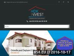 Miniaturka domeny www.hdkinvest.pl