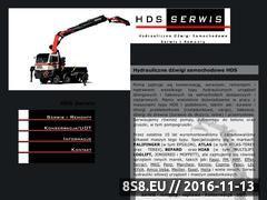 Miniaturka domeny www.hds-serwis.pl