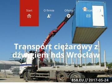 Zrzut strony Transport ciężarowy Wrocław