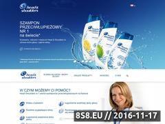 Miniaturka domeny www.headandshoulders.pl