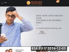 Hearing Loss Treatment in Hyderabad Website