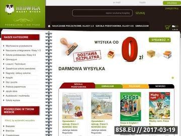 Zrzut strony Podręczniki szkolne - Hedwiga.pl