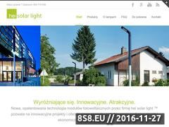 Miniaturka domeny www.hei-solarlight.pl
