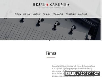 Zrzut strony Biuro rachunkowe Sopot