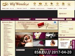 Miniaturka domeny www.hejwesele.pl
