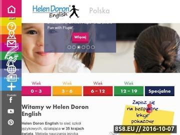 Zrzut strony Język angielski dla dzieci