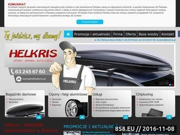 Zrzut strony Mechanik Konin - Helkris