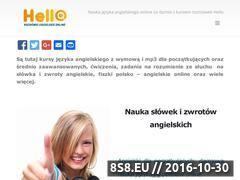 Miniaturka domeny helloangielski.pl