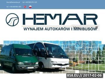 Zrzut strony Hemarbus - tanie wynajmowanie busów Kraków