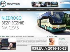 Miniaturka domeny henrytrans.pl