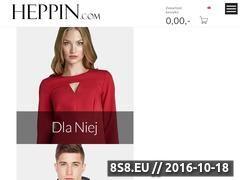 Miniaturka domeny heppin.com