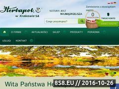 Miniaturka domeny www.herbapol.krakow.pl