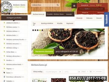 Zrzut strony HERBATA-KAWA kawy smakowe