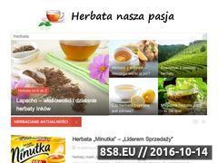 Miniaturka domeny www.herbata.info