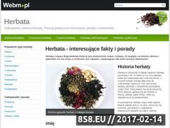 Miniaturka domeny herbata.webm.pl