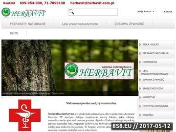 Zrzut strony Medycyna niekonwencjonalna sklep Herbavit