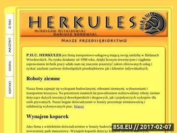 Zrzut strony Herkules.wroclaw.pl