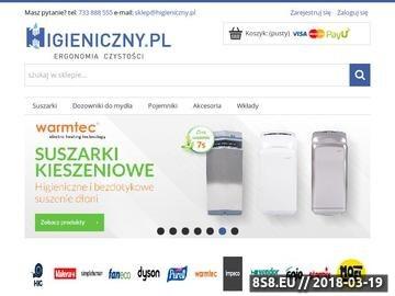 Zrzut strony Przewijaki dla dzieci - Higieniczny.pl
