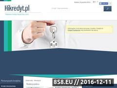 Miniaturka domeny www.hikredyt.pl