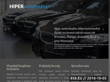 Zrzut strony Skup aut we Wrocławiu - Hiperautomarket
