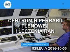Miniaturka domeny hiperbariatlenowa.pl