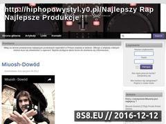 Miniaturka domeny hiphopowystyl.y0.pl