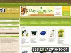 Miniaturka domeny www.hippoland.com.pl