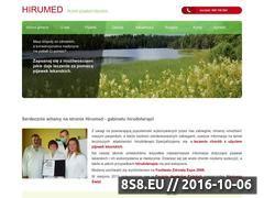 Miniaturka domeny www.hirumed.pl