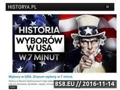Miniaturka domeny historya.pl