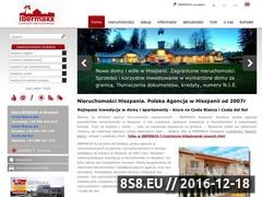 Thumbnail of Nieruchomosci Hiszpania Website