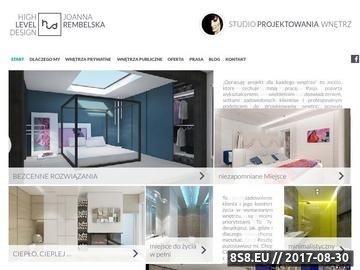 Zrzut strony Projektowanie wnętrz