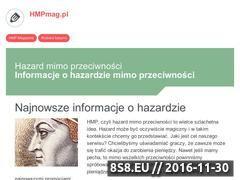 Miniaturka domeny www.hmpmag.pl