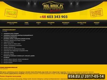 Zrzut strony Pomoc drogowa Wrocław