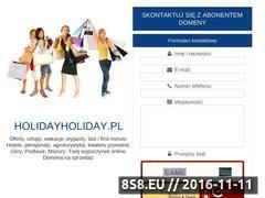 Miniaturka domeny www.holidayholiday.pl