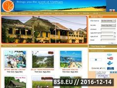Thumbnail of Vietnam holidays Website