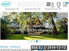 Miniaturka domeny www.holidon.pl