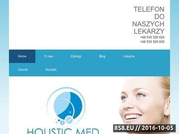 Zrzut strony Holistic Med - medycyna estetyczna Białystok