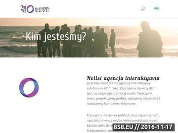 Zrzut strony Holist Marketing - doradztwo marketingowe, agencja reklamowa