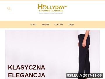 Zrzut strony Producent spodni