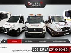 Miniaturka domeny www.holowanie-rental.pl