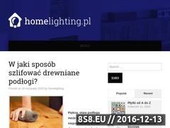 Miniaturka domeny homelighting.pl