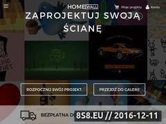 Miniaturka domeny homewall.pl