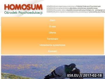Zrzut strony Badania psychotechniczne Rybnik